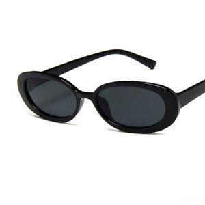 Vintage Small Frame Sunglasses Lunettes Okulary